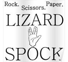 ROCK PAPER SCISSORS LIZARD 2 Poster
