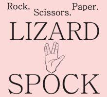 ROCK PAPER SCISSORS LIZARD 2 Kids Clothes