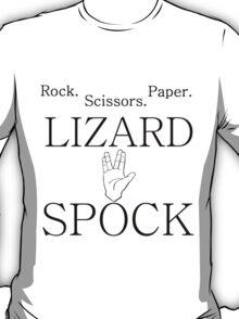 ROCK PAPER SCISSORS LIZARD 2 T-Shirt