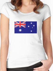 Australia flag Women's Fitted Scoop T-Shirt