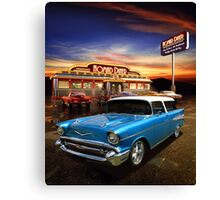 Nomad Dining Canvas Print