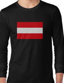 Austria flag Long Sleeve T-Shirt