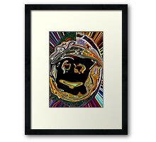 Army Man, by 10year old Basti Framed Print