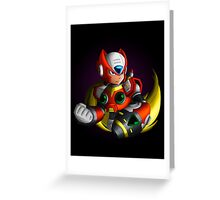 Zero Buster Greeting Card