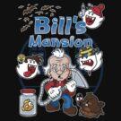 Bill's Mansion by mikehandyart