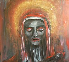 Darfur Madonna and Child-2 by Yianni Digaletos