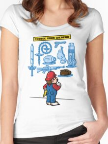 Weapon of Choice Women's Fitted Scoop T-Shirt