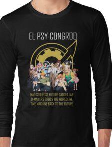 Steins;Gate Psy Congroo Long Sleeve T-Shirt
