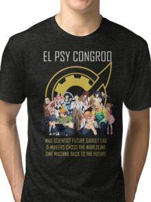 Steins;Gate Psy Congroo Tri-blend T-Shirt