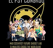 Steins;Gate Psy Congroo by woolfygeorge