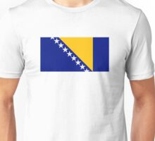 Bosnia and Herzegovina flag Unisex T-Shirt