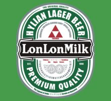 Lon Lon Milk Lager by Johnny Rodriguez