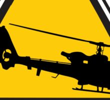 Low Flying Helicopters (1) Sticker