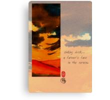 Cornrow Canvas Print