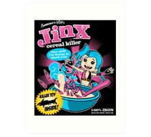 Jinx Cereal Killer Art Print