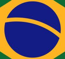 Brazil flag Sticker