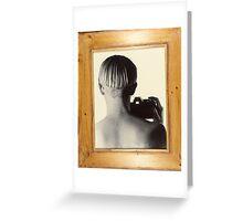Self Portrait- Infinity- 1992 Greeting Card