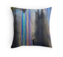Oilslick Throw Pillow
