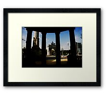 Grand Army Plaza, Brooklyn Framed Print
