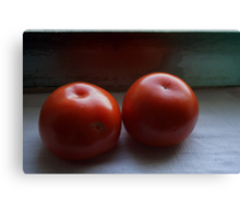 Tomatoes Placed Canvas Print