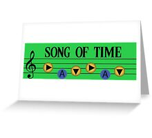 Song of Time- The Legend of Zelda Ocarina of Time Greeting Card