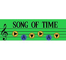 Song of Time- The Legend of Zelda Ocarina of Time Photographic Print