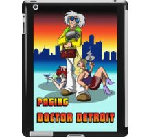 Paging Doctor Detroit iPad Case/Skin