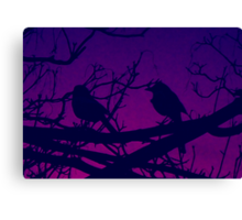 Two For Joy.2 (enhanced color,cropped) Canvas Print