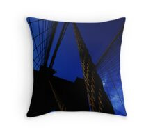 BK Cables Throw Pillow