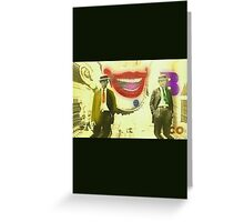 The Clown Killers Greeting Card