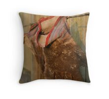 Hard Working Hands Throw Pillow