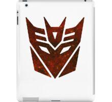 Red Galaxy - Decepticon iPad Case/Skin