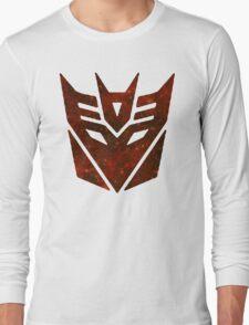 Red Galaxy - Decepticon Long Sleeve T-Shirt