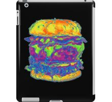 Neon Bacon Cheeseburger iPad Case/Skin