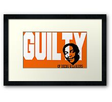 Bill Cosby is Guilty of Being Hilarious Framed Print