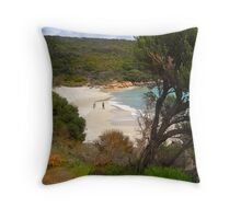 Little Boat Harbour 2nd view Throw Pillow