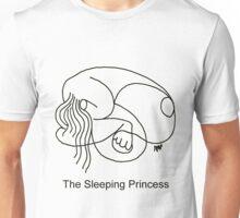 The Sleeping Prncess T-Shirt Unisex T-Shirt