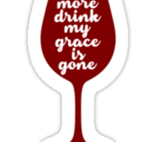 Dave Matthews Band Grace is Gone Sticker