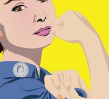 Audrey Hepburn can do it Sticker