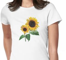 A Sunflower Mommy's Love Womens Fitted T-Shirt