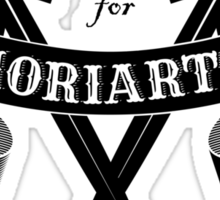 M for Moriarty Sticker