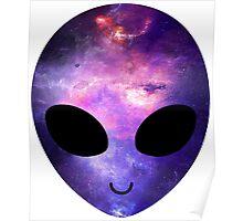 Alien Galaxy Poster