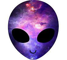 Alien Galaxy Photographic Print