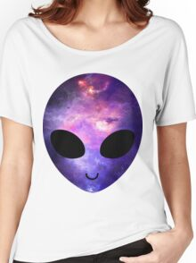 Alien Galaxy Women's Relaxed Fit T-Shirt