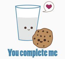 Kawaii Valentines Milk&Cookies Kids Clothes