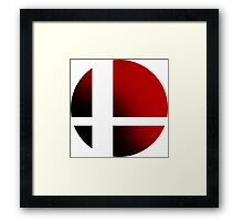 Super Smash Bros. Framed Print