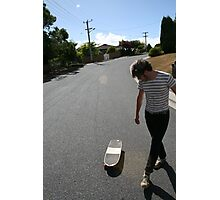 """Surfing Suburbia"" Photographic Print"