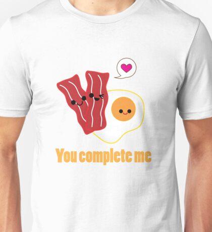 Kawaii Valentines Bacon&Eggs Unisex T-Shirt