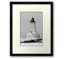 Ice Cold! Framed Print