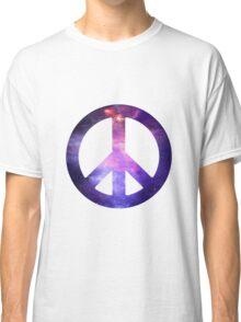 Peace Sign Galaxy Classic T-Shirt